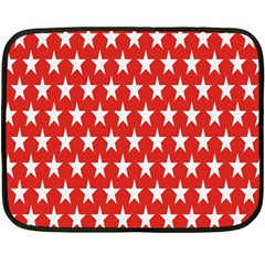 Star Christmas Advent Structure Fleece Blanket (mini)