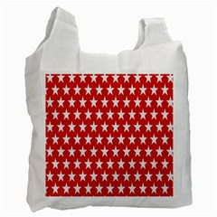Star Christmas Advent Structure Recycle Bag (Two Side)