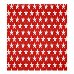 Star Christmas Advent Structure Shower Curtain 66  X 72  (large)