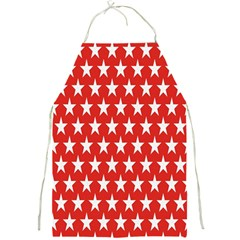 Star Christmas Advent Structure Full Print Aprons