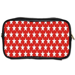 Star Christmas Advent Structure Toiletries Bags