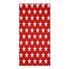 Star Christmas Advent Structure Shower Curtain 36  x 72  (Stall)
