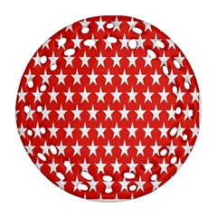 Star Christmas Advent Structure Ornament (round Filigree)