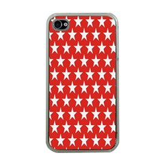 Star Christmas Advent Structure Apple iPhone 4 Case (Clear)