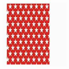Star Christmas Advent Structure Large Garden Flag (two Sides)