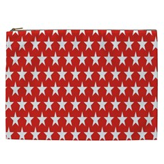 Star Christmas Advent Structure Cosmetic Bag (xxl)