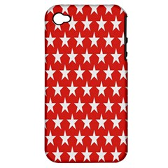 Star Christmas Advent Structure Apple iPhone 4/4S Hardshell Case (PC+Silicone)