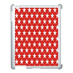 Star Christmas Advent Structure Apple iPad 3/4 Case (White)