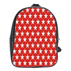 Star Christmas Advent Structure School Bags (XL)