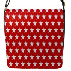 Star Christmas Advent Structure Flap Messenger Bag (s)