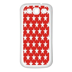 Star Christmas Advent Structure Samsung Galaxy S3 Back Case (white)