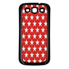 Star Christmas Advent Structure Samsung Galaxy S3 Back Case (black)