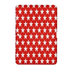 Star Christmas Advent Structure Samsung Galaxy Tab 2 (10 1 ) P5100 Hardshell Case