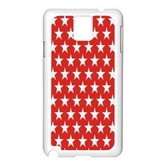 Star Christmas Advent Structure Samsung Galaxy Note 3 N9005 Case (white)