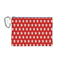 Star Christmas Advent Structure Canvas Cosmetic Bag (M)