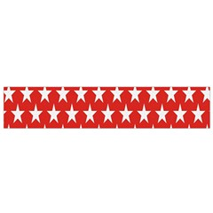 Star Christmas Advent Structure Flano Scarf (small)