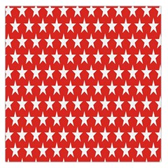 Star Christmas Advent Structure Large Satin Scarf (Square)