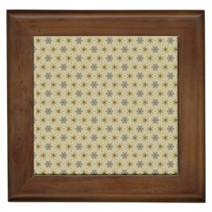 Star Basket Pattern Basket Pattern Framed Tiles