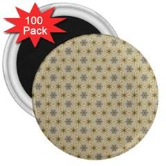 Star Basket Pattern Basket Pattern 3  Magnets (100 pack)