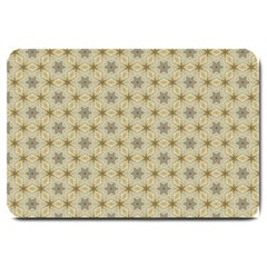 Star Basket Pattern Basket Pattern Large Doormat