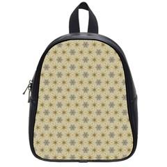 Star Basket Pattern Basket Pattern School Bags (Small)