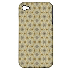 Star Basket Pattern Basket Pattern Apple Iphone 4/4s Hardshell Case (pc+silicone)