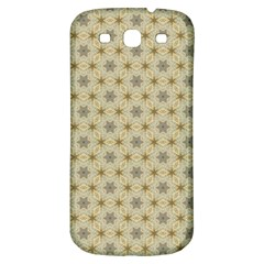 Star Basket Pattern Basket Pattern Samsung Galaxy S3 S Iii Classic Hardshell Back Case