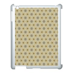 Star Basket Pattern Basket Pattern Apple Ipad 3/4 Case (white)