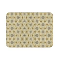 Star Basket Pattern Basket Pattern Double Sided Flano Blanket (Mini)