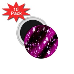 Star Christmas Sky Abstract Advent 1.75  Magnets (10 pack)