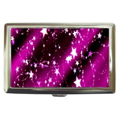 Star Christmas Sky Abstract Advent Cigarette Money Cases