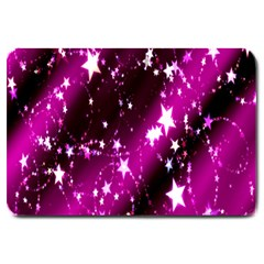 Star Christmas Sky Abstract Advent Large Doormat