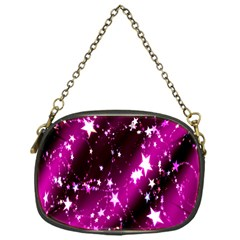 Star Christmas Sky Abstract Advent Chain Purses (one Side)
