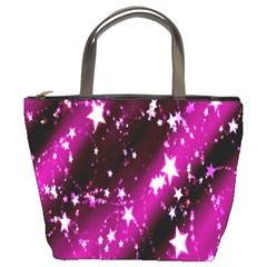 Star Christmas Sky Abstract Advent Bucket Bags