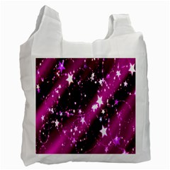 Star Christmas Sky Abstract Advent Recycle Bag (One Side)
