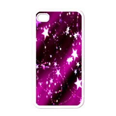 Star Christmas Sky Abstract Advent Apple iPhone 4 Case (White)