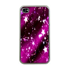 Star Christmas Sky Abstract Advent Apple iPhone 4 Case (Clear)