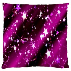 Star Christmas Sky Abstract Advent Large Cushion Case (One Side)