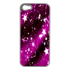 Star Christmas Sky Abstract Advent Apple Iphone 5 Case (silver)