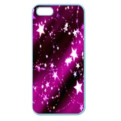 Star Christmas Sky Abstract Advent Apple Seamless iPhone 5 Case (Color)