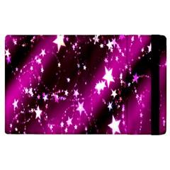 Star Christmas Sky Abstract Advent Apple iPad 2 Flip Case