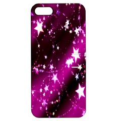 Star Christmas Sky Abstract Advent Apple Iphone 5 Hardshell Case With Stand