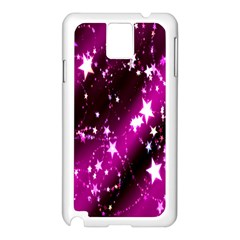 Star Christmas Sky Abstract Advent Samsung Galaxy Note 3 N9005 Case (white)