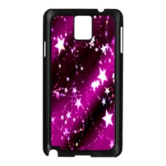 Star Christmas Sky Abstract Advent Samsung Galaxy Note 3 N9005 Case (black)