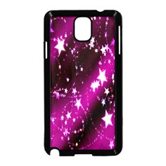 Star Christmas Sky Abstract Advent Samsung Galaxy Note 3 Neo Hardshell Case (Black)