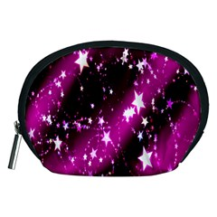 Star Christmas Sky Abstract Advent Accessory Pouches (Medium)