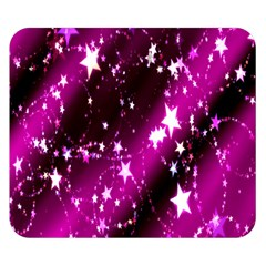 Star Christmas Sky Abstract Advent Double Sided Flano Blanket (small)