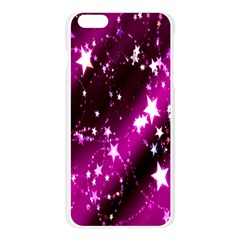 Star Christmas Sky Abstract Advent Apple Seamless iPhone 6 Plus/6S Plus Case (Transparent)