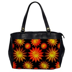 Stars Patterns Christmas Background Seamless Office Handbags