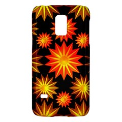 Stars Patterns Christmas Background Seamless Galaxy S5 Mini